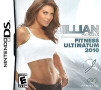 Jillian Michaels Fitness Ultimatum 2010 Nintendo DS Used Refurbished Game