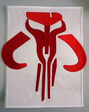 Star Wars - Boba Fett Mandalorian Kyr´bes Logo - großer Jacken Patch 25 cm - neu