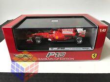Coche Ferrari F10 Bahrein GP 2010 - Fernando Alonso - F1 /Fórmula 1 / F-1 (1/43)