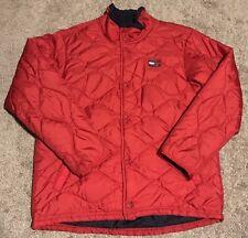 Vintage Women's Tommy Hilfiger Jacket Puffer Style Urban Hiphop Fashion M Rare