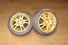 Jdm 2002 2007 Subaru Impreza Wrx Sti V7 Gold 5x100 Wheels 17x7553 Rims Gda