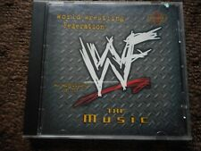 "WWE WRESTLING ""THE MUSIC VOL 3"" CD UNDERTAKER EDGE KANE THE ROCK D GENERATION X"