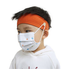 KQ_ Kids Breathable Sweat Absorbent Button Headband Hairband Sweatband Utility