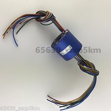 Slip Ring Through Hole Dia.12.7mm   12 Circuit/10A  for Wind Power Generator