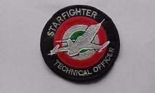 PATCH RARA F-104 STARFIGHTER TECHNICAL OFFICER RICAMATA