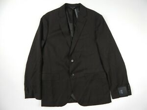 $398 Banana Republic Brown Stretch Wool Blazer Sportcoat Men's 40 R Slim New
