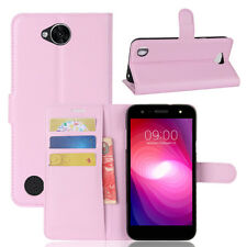 """Case For LG X POWER 2 POWER2 5.5"""" PU Leather Flip Case Protective Wallet Cover"""