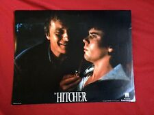 THE HITCHER 10 FOH STILLS LOBBY CARDS Rutger Hauer