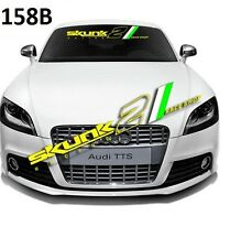 SKUNK2 Car Font Window Windshield Sticker Clear Banner Decal Sticker Racing 158B