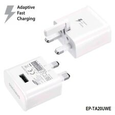 for Samsung Galaxy Android UK Plug Power Adapter Micro USB Fast Charger Original