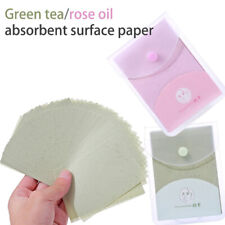 160Sheets/Pack Portable Facial Oil Blotting Paper Removal Oily Absorbing SheSU