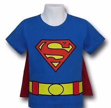 Superman Kids Costume Caped T-Shirt - Toddler