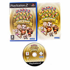 Super Monkey Ball Deluxe PS2 great condition with book