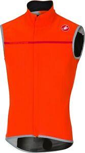 Castelli Perfetto Men's Cycling Vest Bright Orange : Large