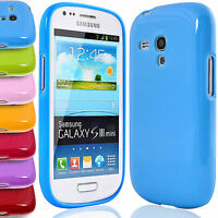 Glossy TPU Case for Samsung Galaxy S 3 III Mini i8190 Gel Rubber Skin Back Cover