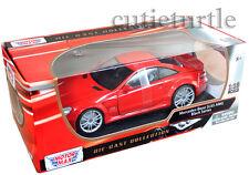 Motormax 79161 Mercedes Benz SL 65 Amg Black Series 1:18 Diecast Red