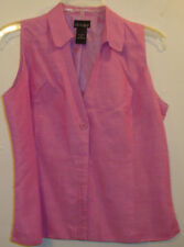 In Moda Blouse Size 10 Pink-Lined WA032