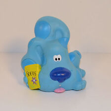 "1998 Gardening Seeds Blue Puppy Dog 2.75"" Tyco Pvc Action Figure Blue's Clues"