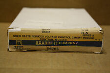 SQUARE D 8660B-5 CONTROL MODULE