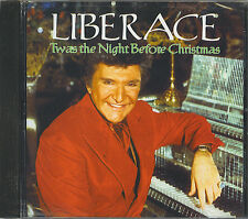 LIBERACE - TWAS THE NIGHT BEFORE CHRISTMAS - NEW CD