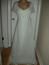FORMAL DRESS EVENING BALL GOWN PROM PARTY COCTAIL WEDDING BRIDESMAID SIZE 14 WOW
