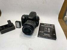 Sony Alpha A33 14.2MP Digital SLR Camera With 18-55mm Lens Battery And Charger