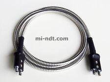 Cable for flaw detector, Equality Lemo 00 Plug to Lemo 00 Plug Krautkramer Armor