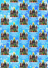 DESCENDANTS Personalised Christmas Gift Wrap - Disney Descendants Wrapping Paper