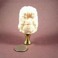 Carved Bone Lamp Ebay
