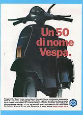 MOTOSPRINT989-PUBBLICITA'/ADVERTISING-1989- VESPA 50 N