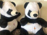 Panda-Zwillinge 37cm, Clemens Germany