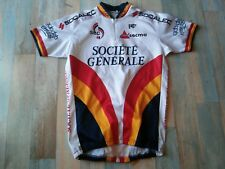 *MAILLOT CYCLISTE NORET V.C RENNES SOCIETE GENERALE TAILLE L/4 TBE
