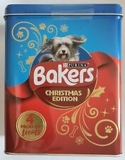 Bakers Christmas Festive Dog Pack of Four Treats Tin Sizzlers Allsorts Rewards