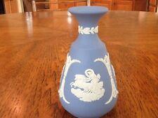 "Wedgwood Jasperware, 4 3/4"" Vase, Features Base Relief Greco Roman Figure"