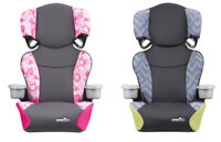 Kids Booster Safety Car Seat 2 in 1 Toddler Travel Chair Sport High Back Auto