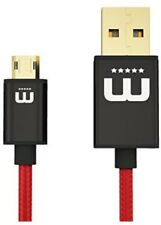 MicFlip Reversible Micro USB Cable For Samsung Galaxy S6 / S6 Edge / S5 / S4  S3