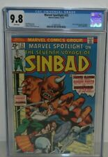 MARVEL SPOTLIGHT 25 CGC 9.8 WHITE PAGES SEVENTH VOYAGE SINBAD MARVEL COMICS 1975