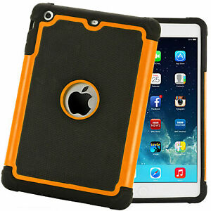 """SHOCK PROOF CASE COVER FOR APPLE iPAD 10.2"""" & Air Three HEAVY DUTY TPU 2020/19"""