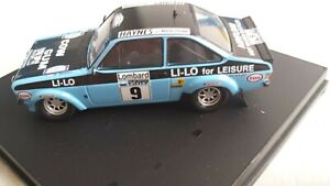 Trofeu 1017 Ford Escort MkII RAC Rally 1978 R.Clark/N.Wilson