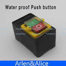 ON/OFF Water proof Push button Switch MAX 10A 380V