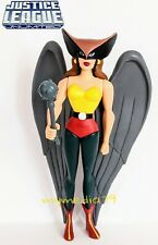 DC Justice League Unlimited Super Heroes Hawkgirl with Mace Action Figure JLU