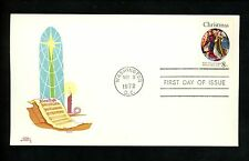 US FDC Colonial Cachet #1471 Christmas National Art Gallery music church 1972