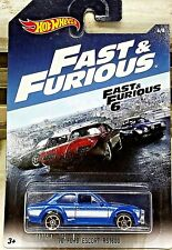 Hot Wheels Fast and Furious 6 1970 Ford Escort RS1600 Blue 1:64 Scale Diecast