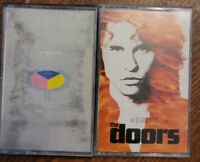 Lot of (2)  ROCK theDOORS soundtrack + YES cassette tapes  - A5