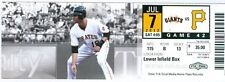 2012 Pirates vs Giants Ticket: James McDonald strikes out 10/Mike McKenry HR