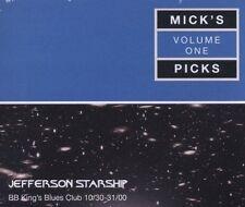 JEFFERSON STARSHIP - MICK'S PICKS Vol. 1 Live At BB King's 3CDs (NEW SEALED)