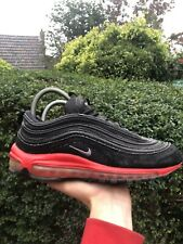Air Max 97 Suede Black Red Size 8