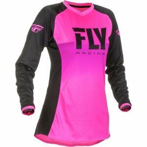 Fly Racing 2019 Women's Lite Jersey (XX-Large) (NEON Pink/Black)
