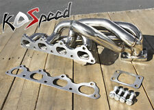 STAINLESS STEEL TURBO EXHAUST MANIFOLD T3/T4 89-95 VOLVO 240/740/940 16V B20 B23