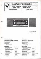 Service Manual Blaupunkt Granada 7 628 500,505,Rüdesheim 7 628 800,Florida 7 628